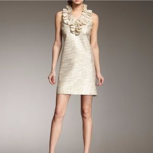 Kate Spade Lucille ruffle neck dress- Holiday.